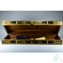 Wooden set board - backgammon & chess