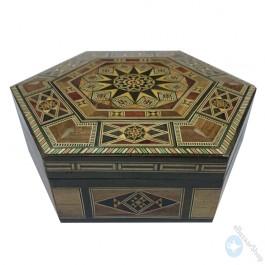 Mosaic Hexagonal box