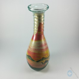Sand Art glass bottle Colorful - Large size