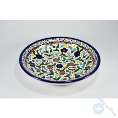 Colorful Ceramic Dish for Nuts or Dry Fruit