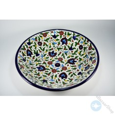 Royal ceramic bowl for salads and fruits - large