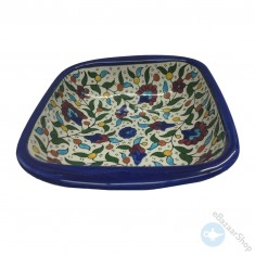 Ceramic Dish Bowl for Nuts & Dry Fruit - Colorful
