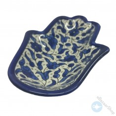Ceramic Dish Bowl for Nuts & Dry Fruit - Blue