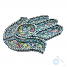 Ceramic Dishes set  for Nuts & Dry Fruit - Turquoise