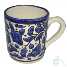 Ceramic mug for tea or coffee - Blue