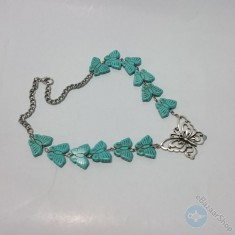 Butterfly necklace - Eastern design