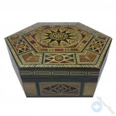 Mosaic Hexagonal box