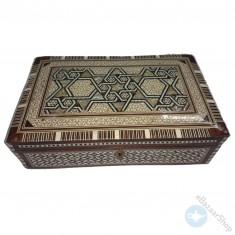 Seashell Wooden Inlaid Box – Mosaic.