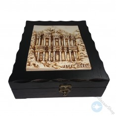 wooden Tea Storage Box - petra