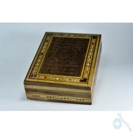 Wooden Mosaic Inlaid Box - Quran holder
