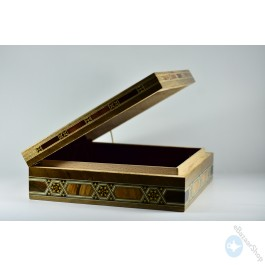 Seashell Inlaid Box for Jewelry