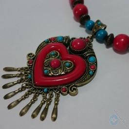 Hart shape Necklace - Eastern model