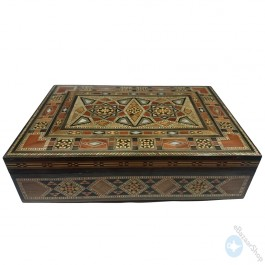 Wooden Mosaic Inlaid Box