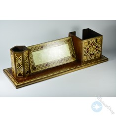 Wooden Desk sets - Mosaic Inlaid
