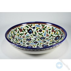 Ceramic Dish for rice, salads and fruit - Colorful
