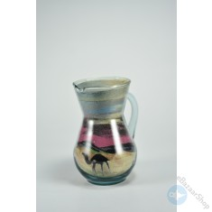 Sand Art glass bottle Colorful - Small size