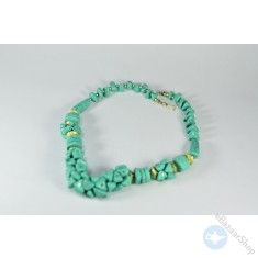 Eastern necklace – turquoise