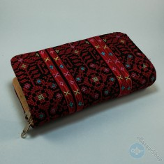 Lady Wallet (purse) - Black & Red
