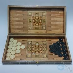 Wooden set board - backgammon & chess