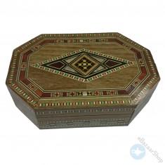 صندوق من الفسيفساء المصنوع يدوياً