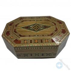 صندوق من الفسيفساء - يدوي الصنع