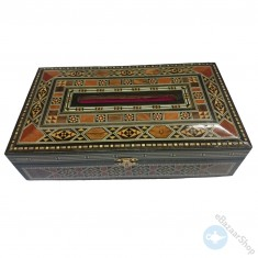 صندوق من الفسيفساء السورية
